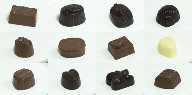 デプラポールのチョコレート